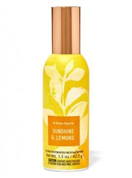 Фото Концентрированный спрей для дома Bath and Body Works - Sunshine & Lemons