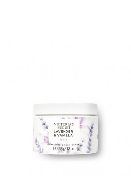 Фото Отшелушивающий скраб для тела из серии Natural Beauty от Victoria's Secret - Lavender & Vanilla