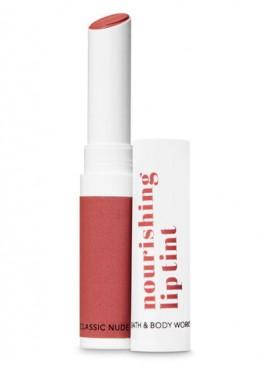 Фото NEW! Бальзам-тинт для губ Nourishing Lip Tint от Bath & Body Works - Classic Nude