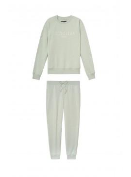 Фото Флисовый костюм Stretch Fleece от Victoria's Secret - Soft Green