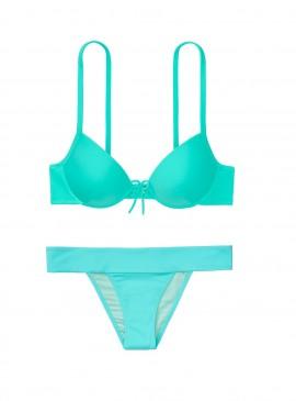 Фото Стильный купальник Malibu Classic Strap Fabulous Push-up от Victoria's Secret - Mint Frost