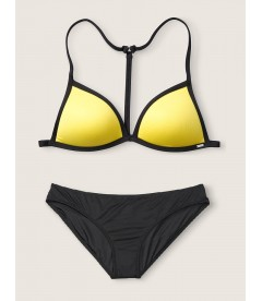 Купальник Push-Up Triangle от Victoria's Secret PINK - Lemon Sorbet