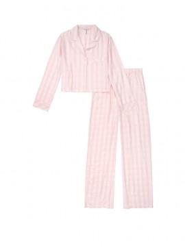 Фото Фланелевая пижама от Victoria's Secret - Pink Mini Plaid