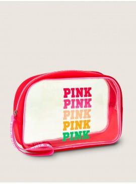 Фото Косметичка Beauty Bag от Victoria's Secret PINK - Superfruit Rainbow