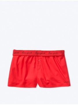 Фото Пижамные шорты от Victoria's Secret PINK - Pin Up Red