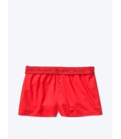 Пижамные шорты от Victoria's Secret PINK - Pin Up Red
