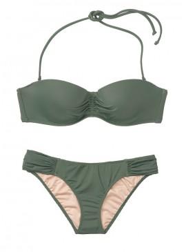 Фото Стильный купальник Malta Bandeau Hipster от Victoria's Secret - Olive