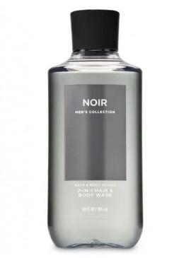 Фото 3в1 Мужское средство для мытья волос, лица и тела Noir от Bath and Body Works