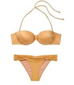 Стильный купальник Ventanas Bandeau Push-up от Victoria's Secret - Shira Gold