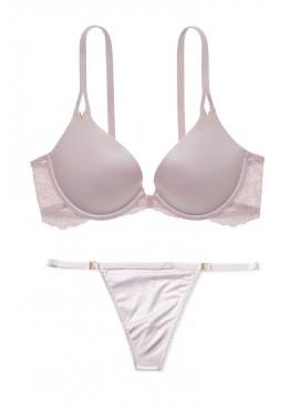 Фото Комплект белья со стрингами Lace Wing Push-Up от Victoria's Secret - Lilac Moon