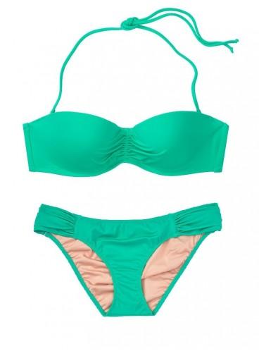 Стильный купальник Malta Bandeau от Victoria's Secret - Tropical Leaf