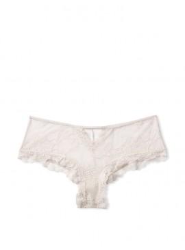 Фото Трусики-чики Sheer Mesh & Lace Cutout от Victoria's Secret - Trench Coat Grey