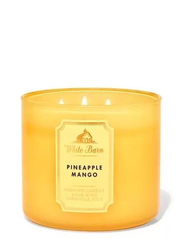Свеча Pineapple Mango от Bath and Body Works