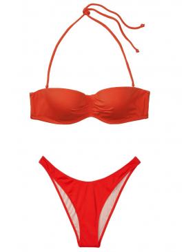 Фото Стильный купальник Malta Bandeau от Victoria's Secret - Cheeky Red
