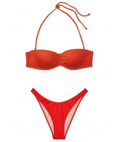 Стильный купальник Malta Bandeau от Victoria's Secret - Cheeky Red