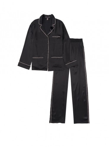 Шелковая пижама от Victoria's Secret - Black
