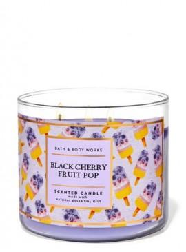 Фото Свеча Black Cherry Fruit Pop от Bath and Body Works