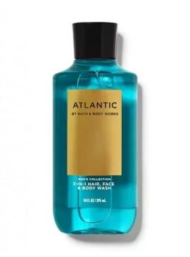 Фото 3в1 Мужское средство для мытья волос, лица и тела Atlantic от Bath and Body Works