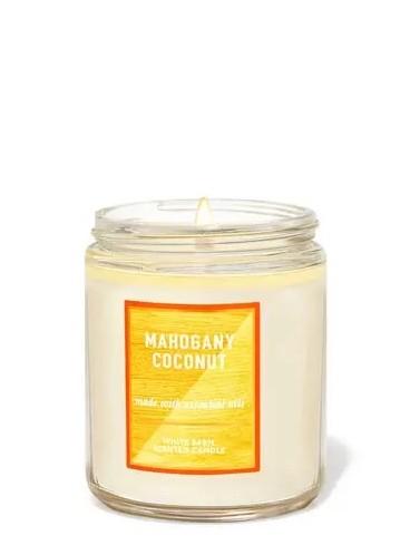 Свеча Mahogany Coconut от Bath and Body Works