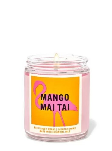 Свеча Mango Mai Tai от Bath and Body Works