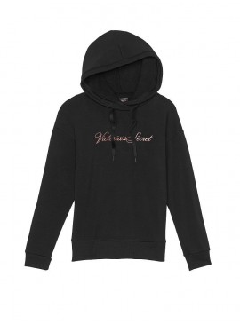 Фото Флисовое худи Stretch Fleece от Victoria's Secret - Black