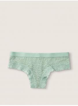 Фото Кружевные трусики-чикстер от Victoria's Secret PINK - Seasalt Green