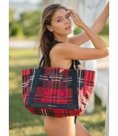 Стильная сумка-шоппер от Victoria's Secret - Red