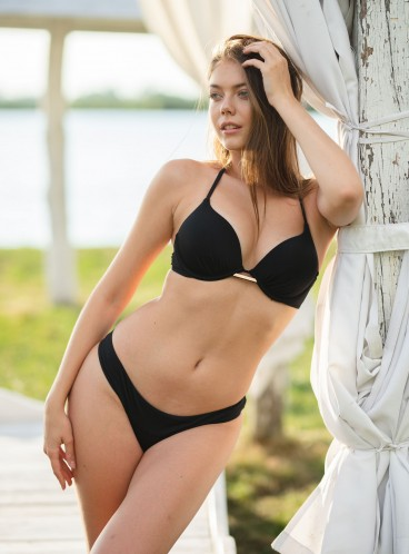Стильный купальник Bali Bombshell Add-2-cups Push-Up от Victoria's Secret - Nero