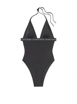 Фото NEW! Стильный монокини Sydney Logo Plunge от Victoria's Secret - Nero