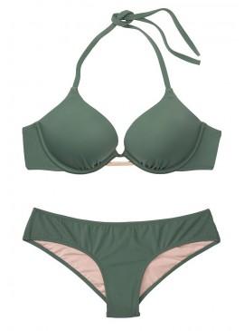 Фото Стильный купальник Bali Bombshell Add-2-cups Push-Up от Victoria's Secret - Olive