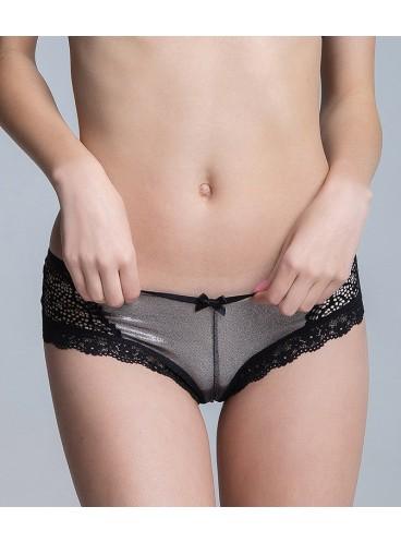 Кружевные трусики-чики от Victoria's Secret - Black