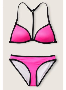 Фото Яркий купальник Push-Up Triangle от Victoria's Secret PINK - Neon Princess