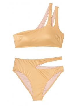 Фото Стильный купальник Lagos Cutout One Shoulder от Victoria's Secret - Shira Gold
