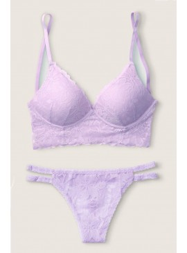 Фото Комплект бeлья Lace Wireless Push-Up Bralette от Victoria's Secret PINK - Cabana Purple