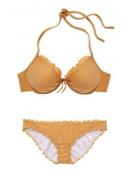 Фото Стильный купальник Malibu Shimmer Fabulous Push-Up от Victoria's Secret - Goldilocks