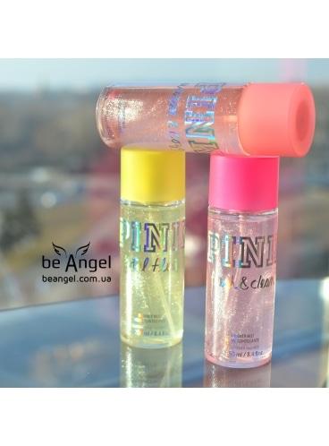 Спрей для тела PINK Warm & Cozy Limited edition (shimmer mist)